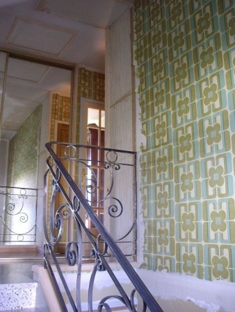 mont e d 39 escalier c line mary d coratrice d 39 int rieur flers normandie. Black Bedroom Furniture Sets. Home Design Ideas